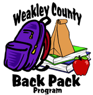 Weakley County Backpack Program